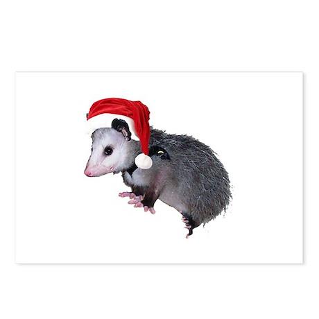 Santa Possum Postcards (Package of 8)