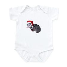 Santa Possum Infant Bodysuit