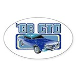 1966 Pontiac GTO Oval Sticker