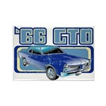 1966 Pontiac GTO Rectangle Magnet (10 pack)