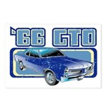 1966 Pontiac GTO Postcards (Package of 8)