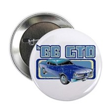"1966 Pontiac GTO 2.25"" Button"