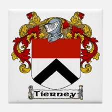 Tierney Coat of Arms Ceramic Tile