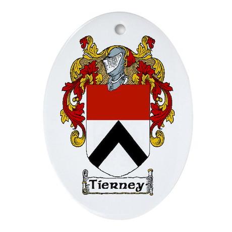 Tierney Coat of Arms Keepsake Ornament