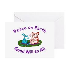 E&D Peace - Greeting Card
