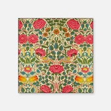 Rose Chintz Pattern Colorful Sticker