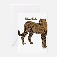 Cheetah Greeting Cards