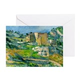 Paul cezanne Greeting Cards (10 Pack)