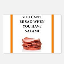 salami Postcards (Package of 8)