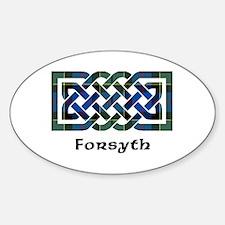 Knot - Forsyth Sticker (Oval)
