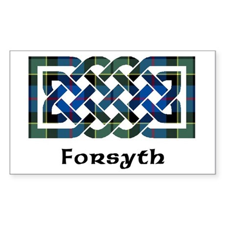 Knot - Forsyth Sticker (Rectangle)