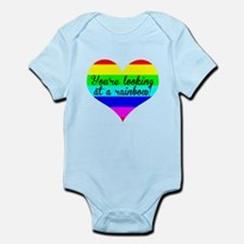 You're Looking At A Rainbow Body Suit