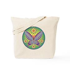 Celtic Butterfly (violet) Tote Bag