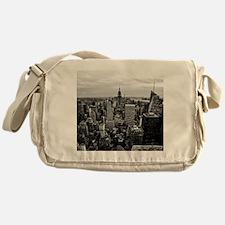 NYC Skyline Messenger Bag