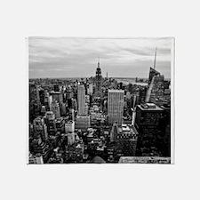 NYC Skyline Throw Blanket