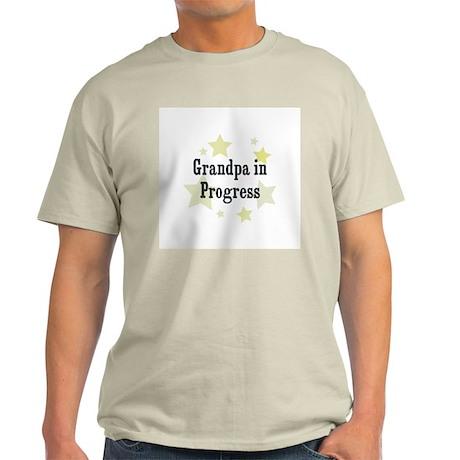 Grandpa in Progress Light T-Shirt
