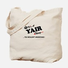YAIR thing, you wouldn't understand Tote Bag