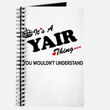 YAIR thing, you wouldn't understand Journal