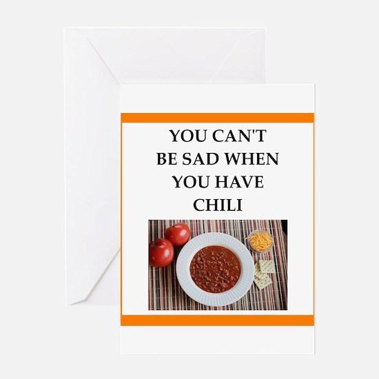 chili Greeting Cards
