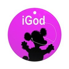 iGod Ornament (Round)