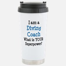 diving coach Stainless Steel Travel Mug
