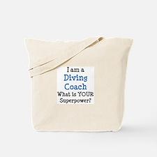 diving coach Tote Bag