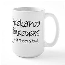 Peekapoo Doggy Style Mug
