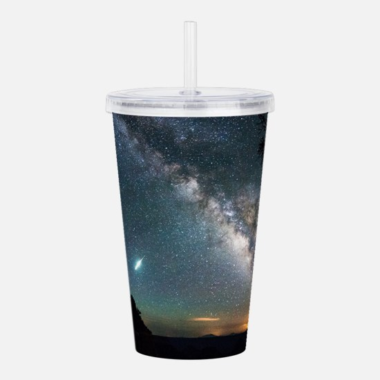 Cute Galaxies Acrylic Double-wall Tumbler
