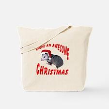 Santa Helper Possum Tote Bag