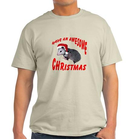 Santa Helper Possum Light T-Shirt