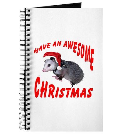 Santa Helper Possum Journal