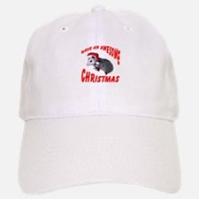 Santa Helper Possum Baseball Baseball Cap