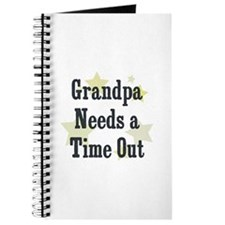 Grandpa Needs a Time Out Journal