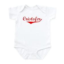 Cristofer Vintage (Red) Infant Bodysuit