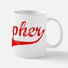 Cristopher Vintage (Red) Mug