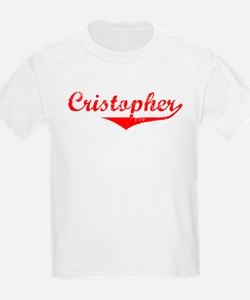 Cristopher Vintage (Red) T-Shirt