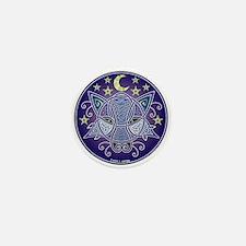 Celtic Wolf Mini Button