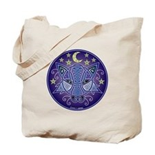 Celtic Wolf Tote Bag