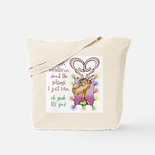 Reindeer Love Tote Bag