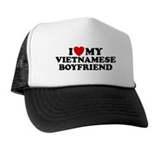 I Love My Vietnamese Boyfriend Trucker Hat