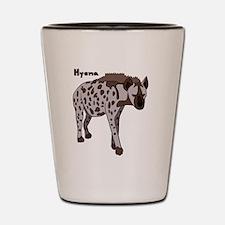 Cute Hyena Shot Glass