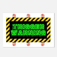 Cute Warning Postcards (Package of 8)