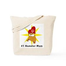 #1 Hamster Mom Tote Bag