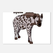 Hyena Postcards (Package of 8)