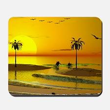 Paradise Shore Sunset Mousepad