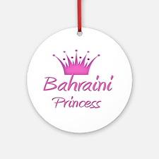 Bahraini Princess Ornament (Round)