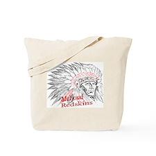 McLoud RedskinsTote Bag