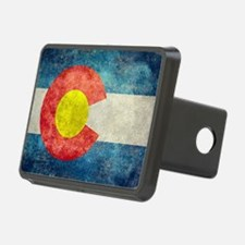 Colorado State Flag - Retr Hitch Cover