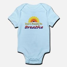Don't forget to breathe! Infant Bodysuit
