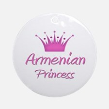 Armenian Princess Ornament (Round)